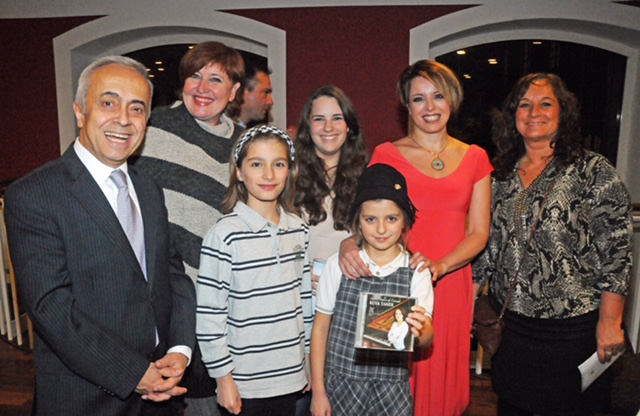 Copenhag Turkish Ambassador, Susanne Bryde And Her Music Students