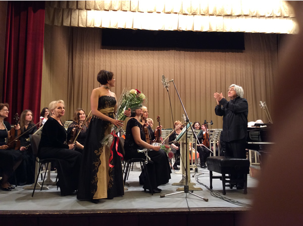 Moldova Symphony Orchestra With Conductor Gheorghe Mustea