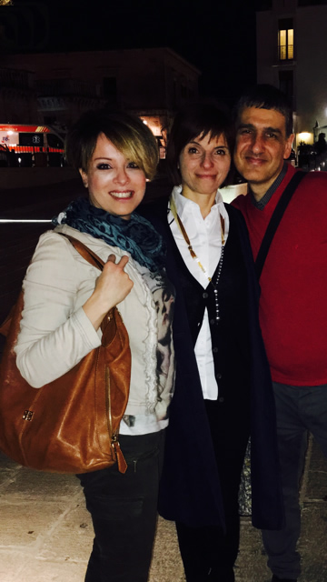 Reunion With Old Friends After 16 Years - Yuri & Diana Nocciero