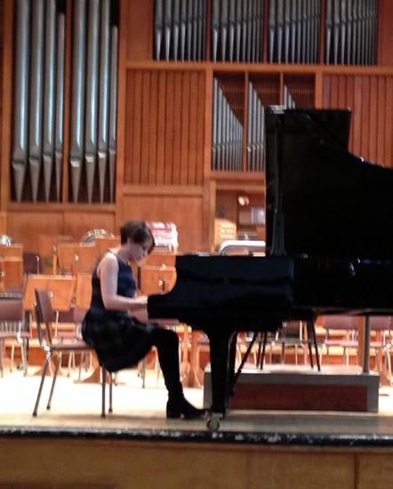 Rehearsals At Sofia Philharmonic Bulgarian Concert Hall